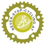 Never-stop-cycling Logo